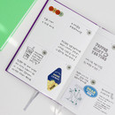 Weekly plan - GMZ Brilliant dateless weekly planner scheduler