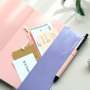 PVC cover pen holder - Iconic 2021 End-And dated weekly diary planner