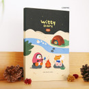 Camping - ICONIC 2021 Witty dated weekly diary planner