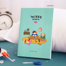 Sleepover - ICONIC 2021 Witty dated weekly diary planner