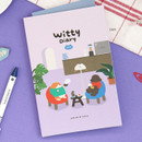 Cafe - ICONIC 2021 Witty dated weekly diary planner