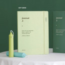 Soft Green - ICONIC 2021 Journal Journey dated weekly diary planner