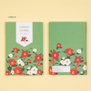 Camellia - Ardium 2021 Flower dated weekly diary planner