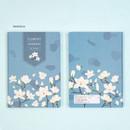 Magnolia - Ardium 2021 Flower dated weekly diary planner