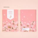 Cherry Blossom - Ardium 2021 Flower dated weekly diary planner