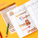 Usage example - Wanna This Basic Korean Alphabet sticker