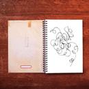 Blank page - UNIVERSAL CONDITION Natural Beige wirebound blank notebook