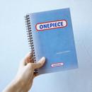 UNIVERSAL CONDITION French blue wirebound blank notebook
