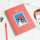 Rainy day - DESIGN GOMGOM 2021 Common days dated weekly diary planner