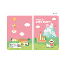 Alps - Ardium 2021 Hello coco dated monthly diary planner