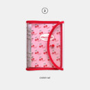 Cherry Me - Second Mansion Retro 6-ring A6 undated weekly planner