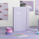 Lavender - ICONIC 2021 Brilliant dated weekly diary planner