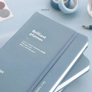 Pale Blue - ICONIC 2021 Brilliant dated daily diary planner