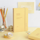 Cream yellow - ICONIC 2021 Brilliant dated daily diary planner