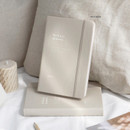 Milk Beige - ICONIC 2021 Brilliant dated daily diary planner