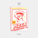 Pizza Day - Second Mansion Cool kids dateless weekly diary planner