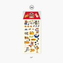 Cat - Second Mansion Juicy bear removable sticker seal 34-39