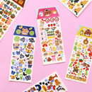 Second Mansion Juicy bear removable sticker seal 34-39