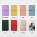 Color - GMZ 2021 Daily log medium dated weekly diary planner