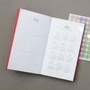 Calendar - GMZ 2021 Daily log medium dated weekly diary planner