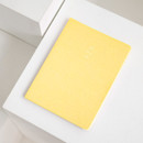 Butter yellow - 2021 Notable memory A4 dated weekly planner