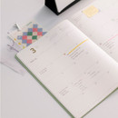 Monthly plan - 2021 Notable memory A4 dated weekly planner