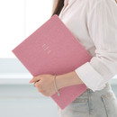Classic pink - 2021 Notable memory A4 dated weekly planner