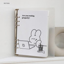 Resting - DESIGN GOMGOM Leeli hardcover 6-ring dateless weekly diary