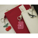 Decorating keyring - After The Rain On the table 6-ring dateless monthly diary