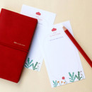 Comes with a test paper - After The Rain 2021 Cloud story dated weekly diary planner
