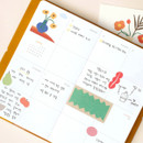 Weekly plan - After The Rain 2021 Cloud story dated weekly diary planner