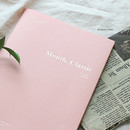 Shell pink - Wanna This 2021 Month classic medium dated monthly planner