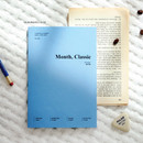 Romance blue - Wanna This 2021 Month classic medium dated monthly planner