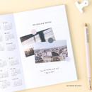 Calendar &  goals - Wanna This 2021 Month classic medium dated monthly planner