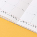 Opens flat - Wanna This 2021 Month classic large dated monthly planner