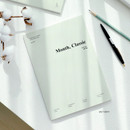 Salt gray - Wanna This 2021 Month classic large dated monthly planner