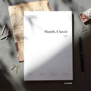 Flat White - Wanna This 2021 Month classic large dated monthly planner