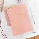 Shell pink - Wanna This 2021 Month classic large dated monthly planner