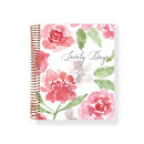 2021 Watercolor Flowers spiral dated weekly planner