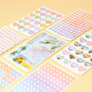 PAPERIAN Diary deco removable sticker 8 sheets set
