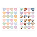 Detail of PAPERIAN Diary deco removable sticker 8 sheets set