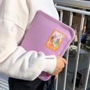 Lavender - Second Mansion Cherry me pocket zipper book cover pouch