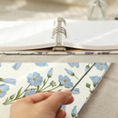 Sturdy ring, band closure - PAPERIAN Florence A5 size 6 ring binder with elastic band