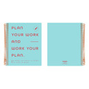 istyle 2021 Blue Quote spiral dated weekly planner