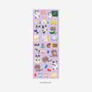 03 Study life - PLEPLE Bunny life paper removable sticker