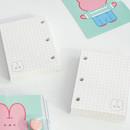 140 pages - DESIGN GOMGOM Reeli 3-ring grid notebook