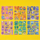 Ardium Pop illustration colorful point paper sticker ver5