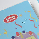 PVC cover - GMZ 2021 Kitsch heart dated weekly diary planner