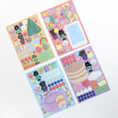 Comes with sticker - GMZ 2021 Kitsch heart dated weekly diary planner