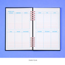 Yearly plan - Ardium Color pop 10 rings dateless monthly diary planner